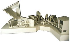 Graphic: Model of the new synagogue
